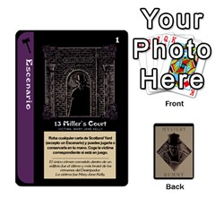 Rummy Jack The Ripper 1 By Jorge   Playing Cards 54 Designs   V0vqestpmj7o   Www Artscow Com Front - Spade8