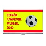 España campeona mundial - Business card holder