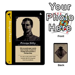 Rummy Jack The Ripper 2 (+extras) By Jorge   Playing Cards 54 Designs   2kk6aa15nyct   Www Artscow Com Front - Spade6