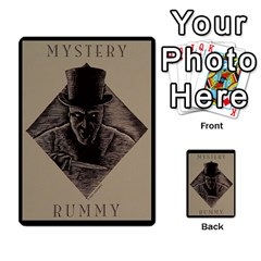 Rummy Jack The Ripper 2 (+extras) By Jorge   Playing Cards 54 Designs   2kk6aa15nyct   Www Artscow Com Back
