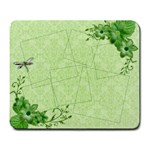 Dragonfly mousepad - Large Mousepad