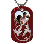 Lovebirds Dog Tag - Dog Tag (One Side)