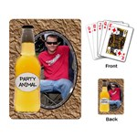Party Animal Playing Cards - Playing Cards Single Design