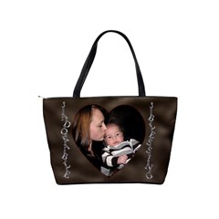 Baby Angel Shoulder Bag By Lil    Classic Shoulder Handbag   Awrz7mpcmaty   Www Artscow Com Back