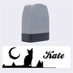 Cats on the roof - Rubber stamp - Name Stamp