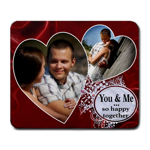 You & Me Mousepad by Lil Front
