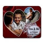 You & Me Mousepad - Large Mousepad