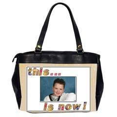 That Was Then     This Is Now! Oversize Bag 2 By Catvinnat   Oversize Office Handbag (2 Sides)   Amsxu4djysfn   Www Artscow Com Back
