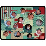 Airplane XL Fleece Blanket - Fleece Blanket (Extra Large)