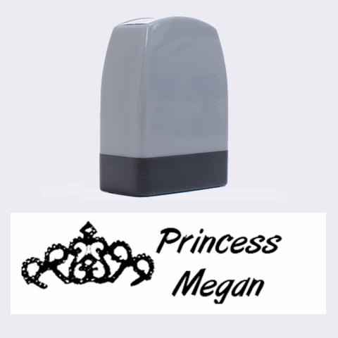 Princess Name Rubber Stamp By Danielle Christiansen   Name Stamp   Fjydav9yfh2r   Www Artscow Com 1.4 x0.5  Stamp