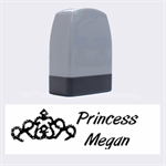 princess name rubber stamp - Name Stamp