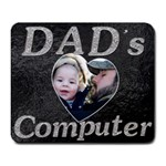 Dad s Computer  Mousepad - Large Mousepad