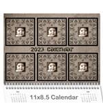 Art Nouveau Moccachino Calendar 2015 - Wall Calendar 11  x 8.5  (12-Months)