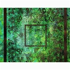 Art Nouveau Green Dream Calendar 2015 By Catvinnat   Wall Calendar 11  X 8 5  (12 Months)   8ymmjxhjru9l   Www Artscow Com Month
