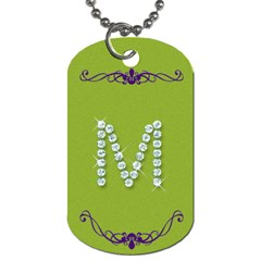Megan s  By Barb Smith   Dog Tag (two Sides)   0fcjucjjkb4w   Www Artscow Com Front