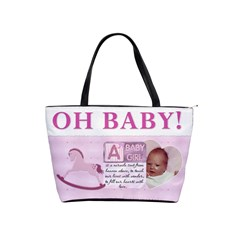 Oh Baby Girl Shoulder Handbag By Lil    Classic Shoulder Handbag   4p3d4iqc2anx   Www Artscow Com Front
