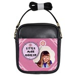Little Miss Giggles Girls Sling Purse - Girls Sling Bag