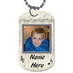 Rock & Roll Dog Tag - Dog Tag (Two Sides)