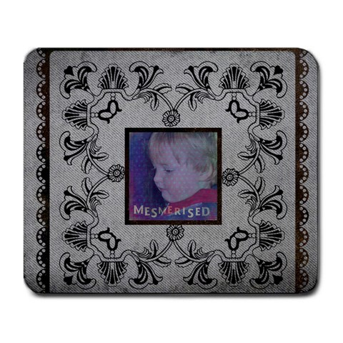 Mesmerised Mousemat By Catvinnat   Large Mousepad   S3urrm7rds7n   Www Artscow Com Front