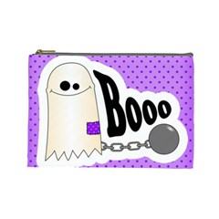 Halloween Cosmetic Bag 01 By Carol   Cosmetic Bag (large)   Y3ro02b8lkkt   Www Artscow Com Front