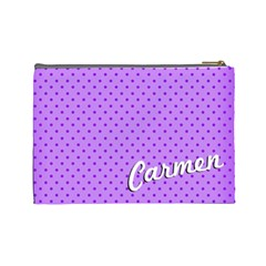 Halloween Cosmetic Bag 01 By Carol   Cosmetic Bag (large)   Y3ro02b8lkkt   Www Artscow Com Back