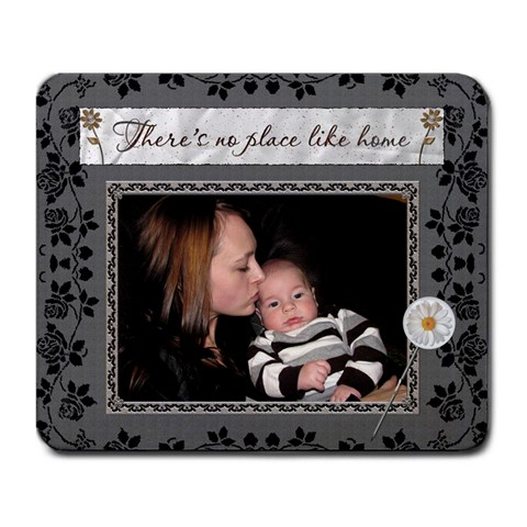 There Is No Place Like Home Mousepad By Lil    Large Mousepad   Jt46bafw4eyb   Www Artscow Com Front