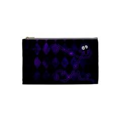 Halloween Cosmetic Bag S 01 By Carol   Cosmetic Bag (small)   Oyvlj0h4yih3   Www Artscow Com Front