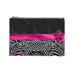 Denise Cosmetic Bag By Florence Yeung   Cosmetic Bag (large)   Wnut65fsri99   Www Artscow Com Front