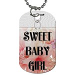 Sweet Baby Girl Dog Tag - Dog Tag (Two Sides)