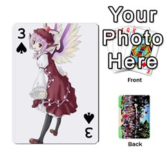 Touhou Playing Cards By Keifer   Playing Cards 54 Designs   7dgrygn28gyi   Www Artscow Com Front - Spade3