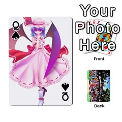 Queen Touhou Playing Cards By Keifer   Playing Cards 54 Designs   7dgrygn28gyi   Www Artscow Com Front - SpadeQ