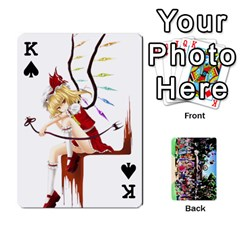 King Touhou Playing Cards By Keifer   Playing Cards 54 Designs   7dgrygn28gyi   Www Artscow Com Front - SpadeK