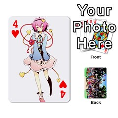 Touhou Playing Cards By Keifer   Playing Cards 54 Designs   7dgrygn28gyi   Www Artscow Com Front - Heart4