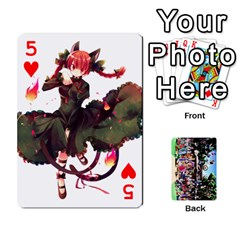 Touhou Playing Cards By Keifer   Playing Cards 54 Designs   7dgrygn28gyi   Www Artscow Com Front - Heart5