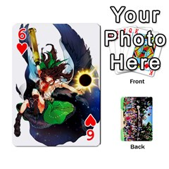 Touhou Playing Cards By Keifer   Playing Cards 54 Designs   7dgrygn28gyi   Www Artscow Com Front - Heart6