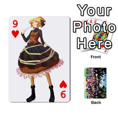 Touhou Playing Cards By Keifer   Playing Cards 54 Designs   7dgrygn28gyi   Www Artscow Com Front - Heart9