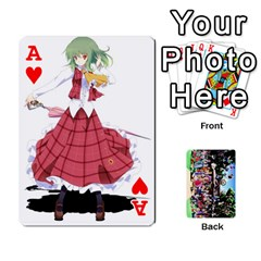 Ace Touhou Playing Cards By Keifer   Playing Cards 54 Designs   7dgrygn28gyi   Www Artscow Com Front - HeartA