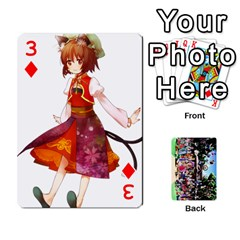 Touhou Playing Cards By Keifer   Playing Cards 54 Designs   7dgrygn28gyi   Www Artscow Com Front - Diamond3