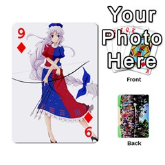 Touhou Playing Cards By Keifer   Playing Cards 54 Designs   7dgrygn28gyi   Www Artscow Com Front - Diamond9