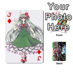 Jack Touhou Playing Cards By Keifer   Playing Cards 54 Designs   7dgrygn28gyi   Www Artscow Com Front - DiamondJ