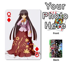 Queen Touhou Playing Cards By Keifer   Playing Cards 54 Designs   7dgrygn28gyi   Www Artscow Com Front - DiamondQ