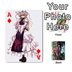 Ace Touhou Playing Cards By Keifer   Playing Cards 54 Designs   7dgrygn28gyi   Www Artscow Com Front - DiamondA
