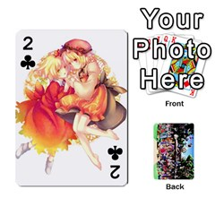 Touhou Playing Cards By Keifer   Playing Cards 54 Designs   7dgrygn28gyi   Www Artscow Com Front - Club2