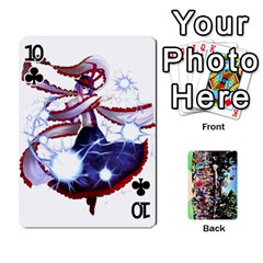 Touhou Playing Cards By Keifer   Playing Cards 54 Designs   7dgrygn28gyi   Www Artscow Com Front - Club10