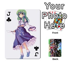 Jack Touhou Playing Cards By Keifer   Playing Cards 54 Designs   7dgrygn28gyi   Www Artscow Com Front - ClubJ