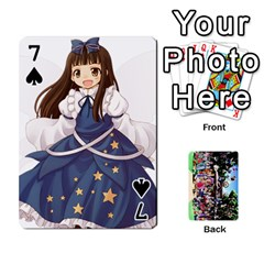Touhou Playing Cards By Keifer   Playing Cards 54 Designs   7dgrygn28gyi   Www Artscow Com Front - Spade7