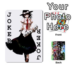 Touhou Playing Cards By Keifer   Playing Cards 54 Designs   7dgrygn28gyi   Www Artscow Com Front - Joker1