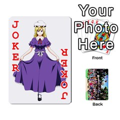 Touhou Playing Cards By Keifer   Playing Cards 54 Designs   7dgrygn28gyi   Www Artscow Com Front - Joker2