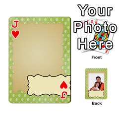 Jack 52 Design Card By Wood Johnson   Playing Cards 54 Designs (rectangle)   Cap9vht8f6bt   Www Artscow Com Front - HeartJ