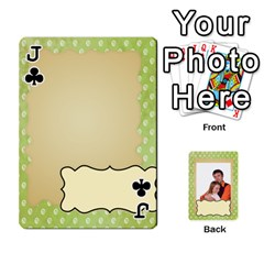 Jack 52 Design Card By Wood Johnson   Playing Cards 54 Designs (rectangle)   Cap9vht8f6bt   Www Artscow Com Front - ClubJ